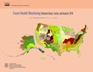Forest Health Monitoring 2018 report cover